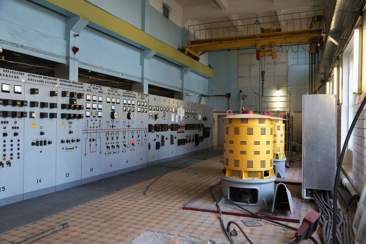Канализационно насосная станция ЦПКиО
